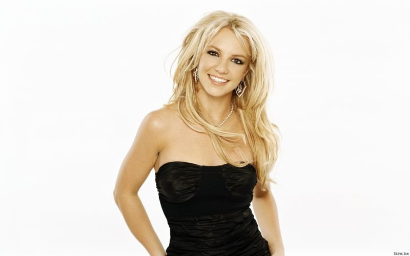 Britney Spears singer musician blondes women females girls sexy babes face eyes d wallpaper