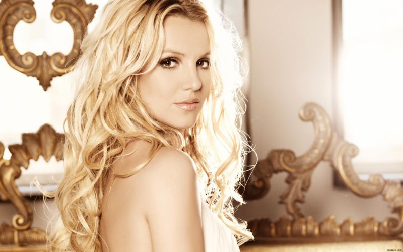 Britney Spears singer musician blondes women females girls sexy babes face eyes f wallpaper