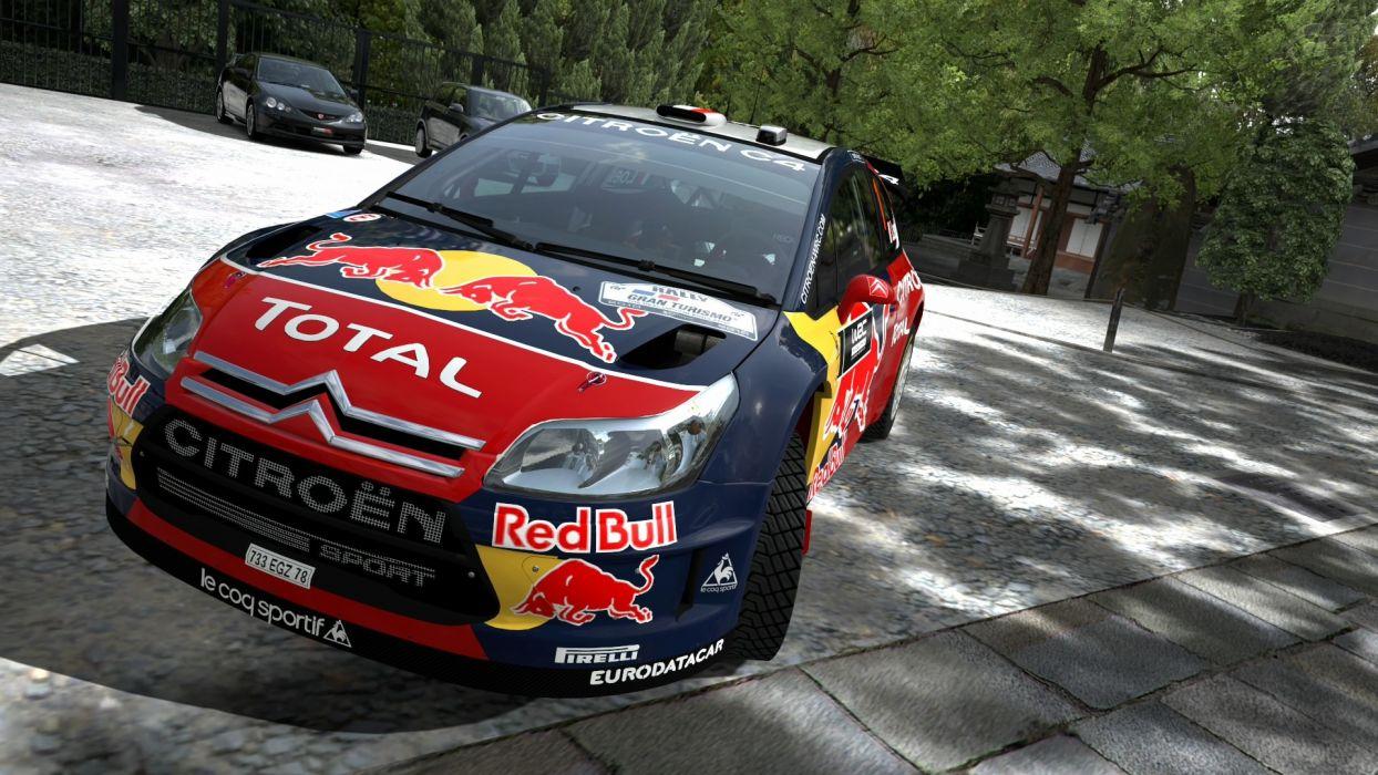 video games cars Citroen C4 WRC Gran Turismo 5 PS3 wallpaper