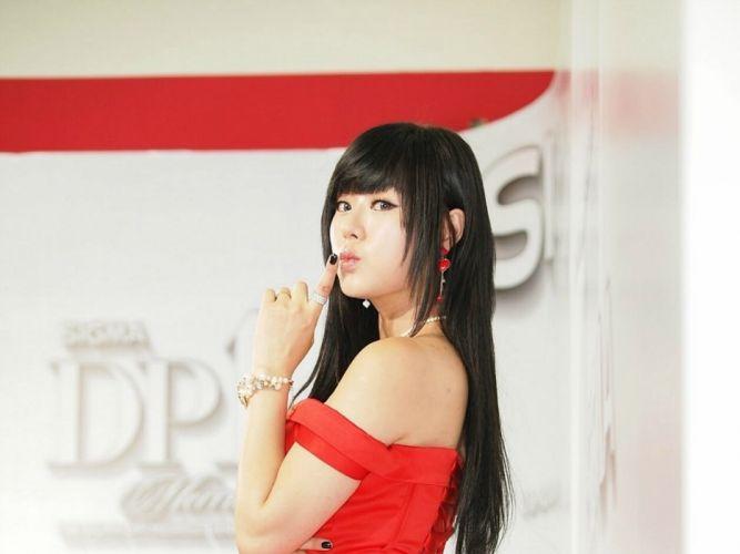 women actress models Hwang Mi Hee Asians Korean wallpaper