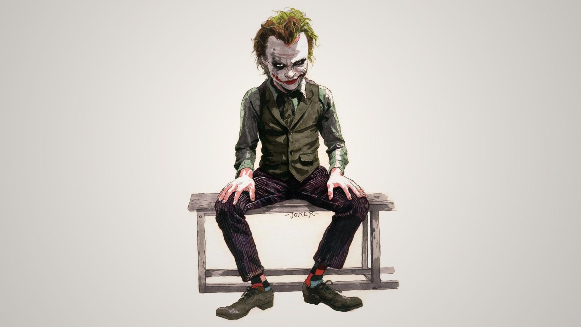 Batman The Joker Artwork Wallpaper 1920x1080 59535 Wallpaperup
