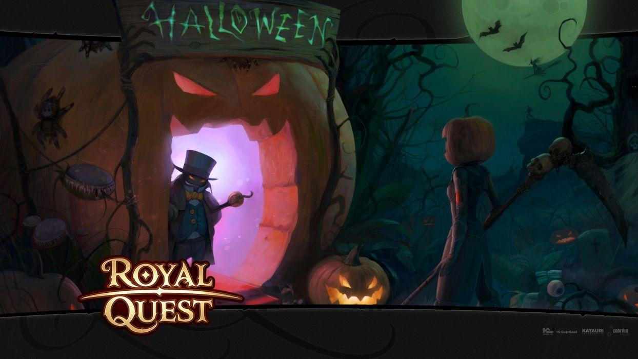 Halloween Royal Quest wallpaper