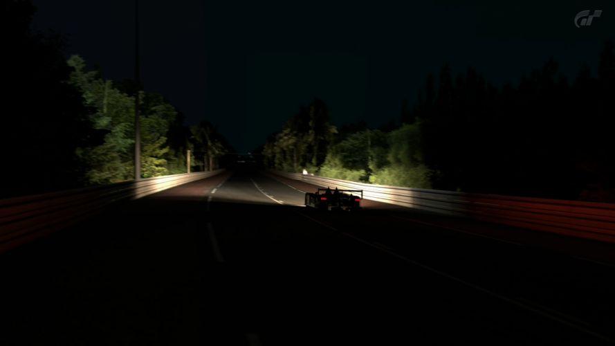 video games night cars Gran Turismo 5 PS3 wallpaper