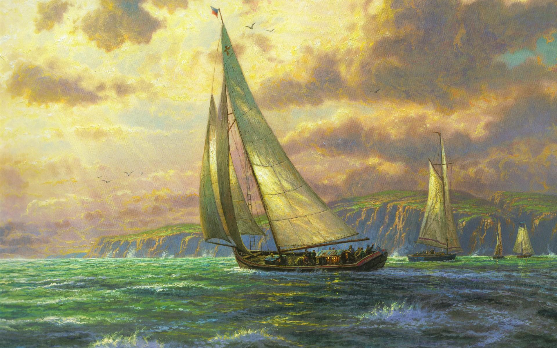 sailing artwork Gallery