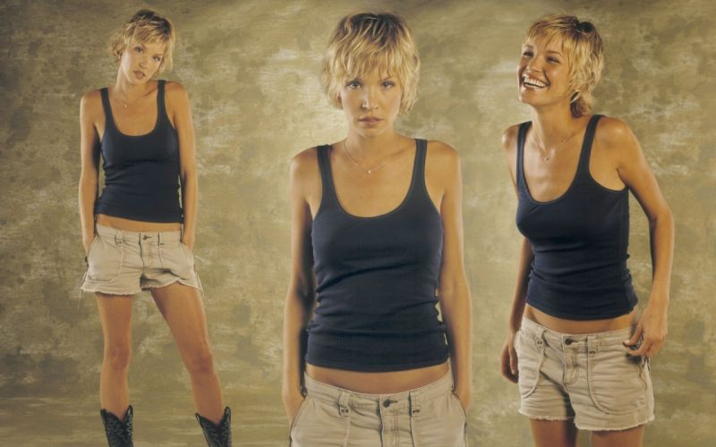women Dark Angel Ashley Scott wallpaper