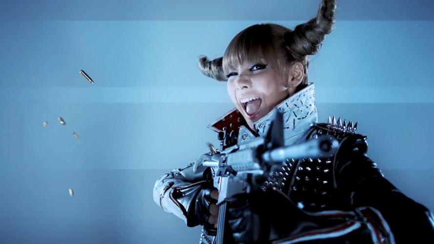 guns screenshots spikes 2NE1 K-Pop music video CL (singer) People's Republic of China punk girl hairstyle wallpaper