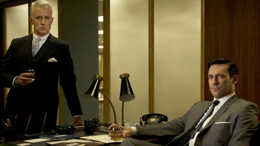 Mad Men Jon Hamm TV series wallpaper