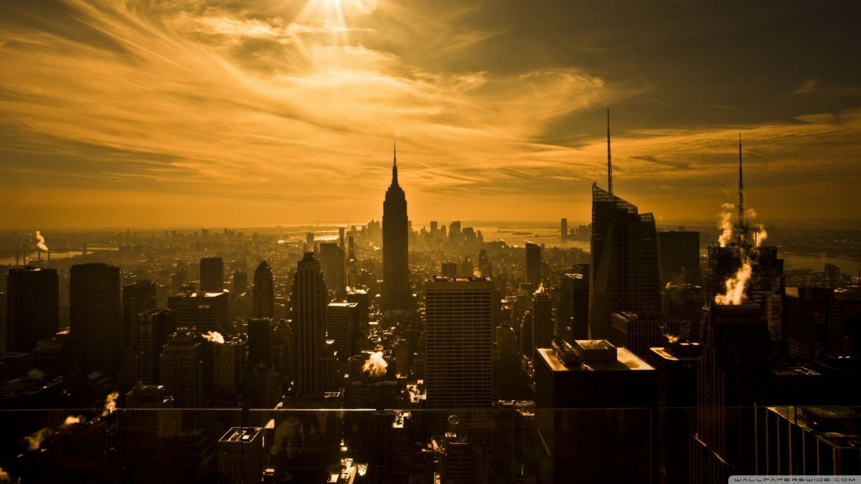 New York City Empire State Building wallpaper