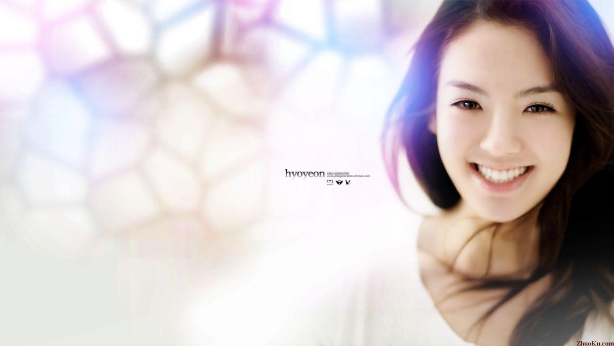 women Girls Generation SNSD Kim Hyoyeon wallpaper