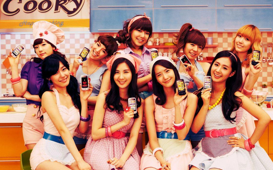 women Girls Generation SNSD Asians Korean Jessica Jung Kim Taeyeon Choi Sooyoung K-Pop Tiffany Hwang wallpaper