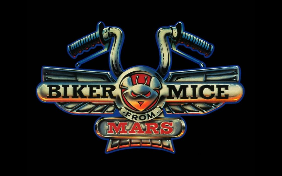 Biker Mice from Mars black background wallpaper