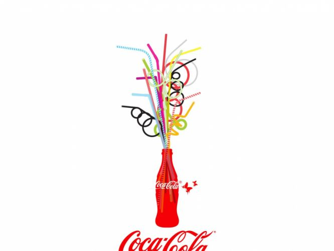 Coca-Cola coke white background wallpaper