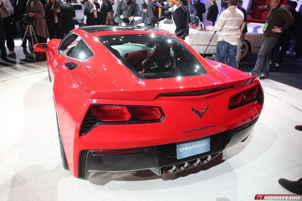 red cars Corvette GT5 fast  Corvette Stingray wallpaper
