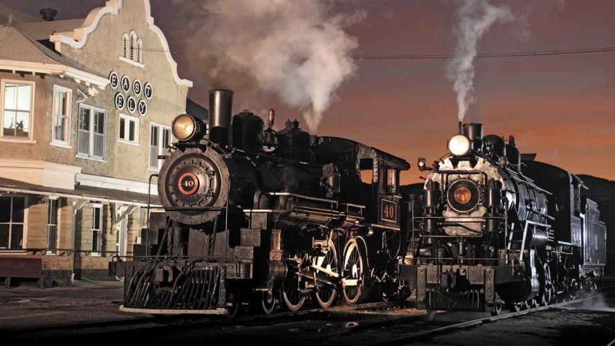 steam trains Nevada museum locomotives wallpaper