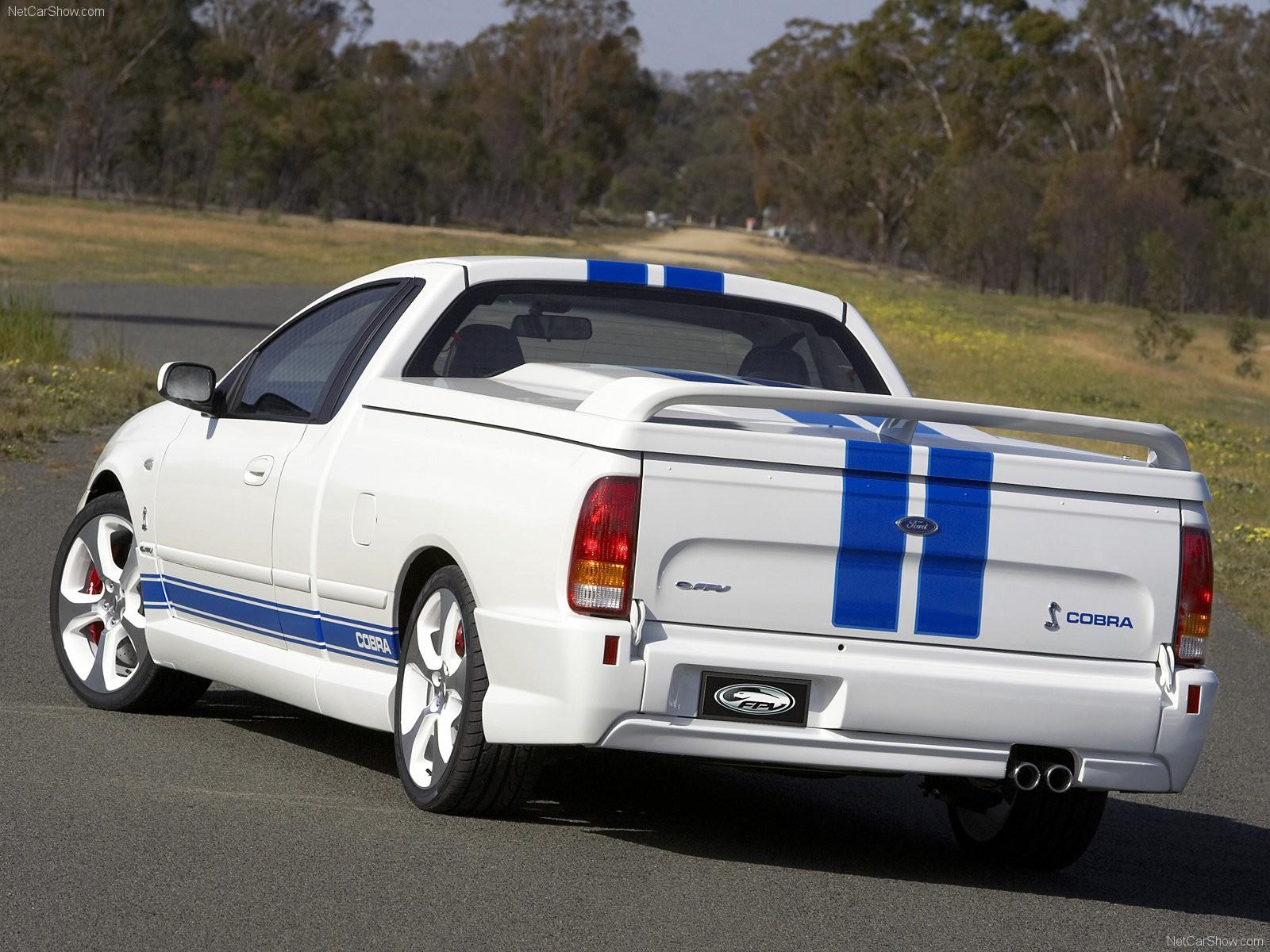 Cars cobra vehicles FPV Ford Falcon ute Aussie Muscle Car Ford
