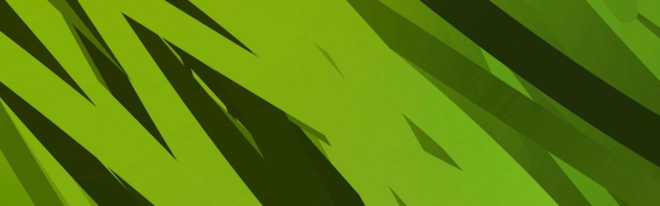 green abstract multiscreen wallpaper