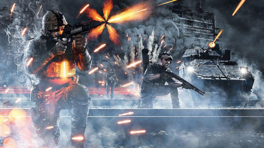 Battlefield 3 game wallpaper