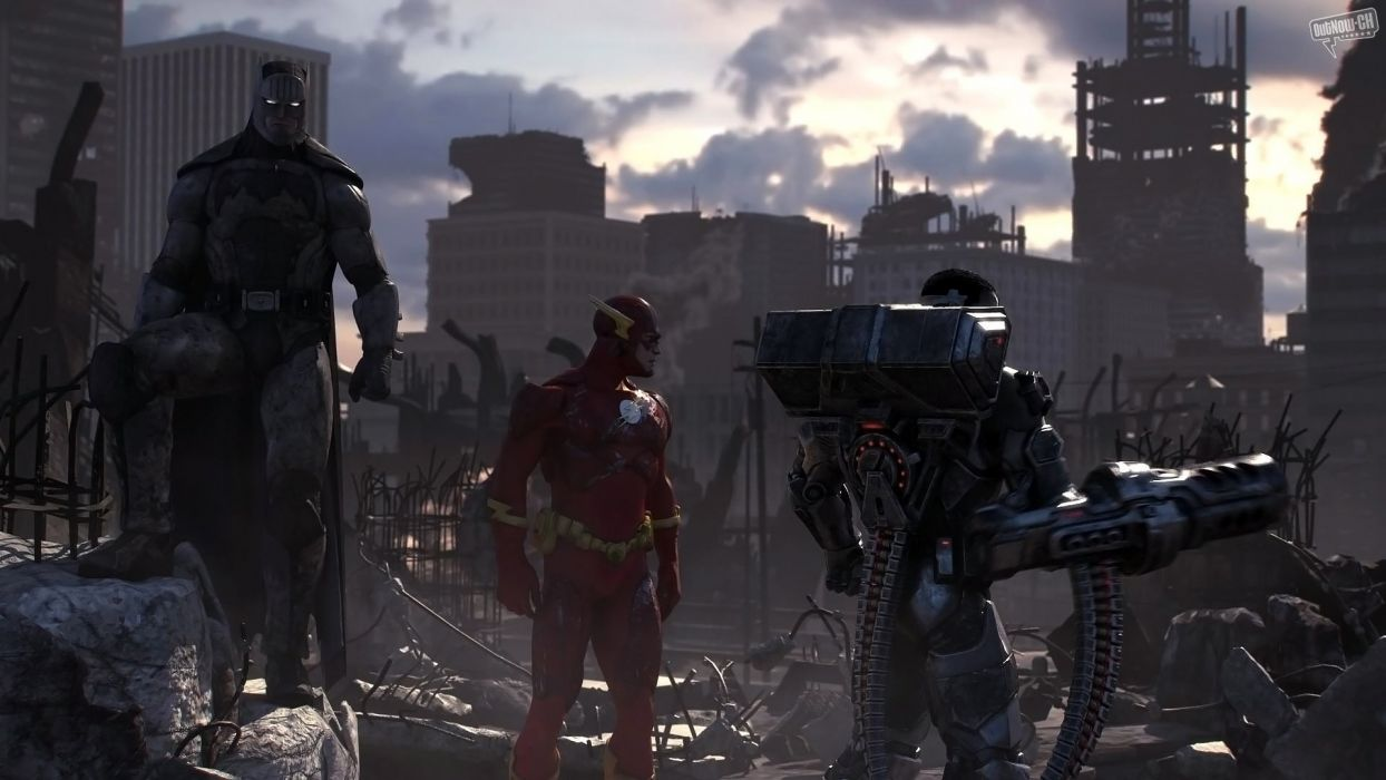 video games DC Universe Online wallpaper