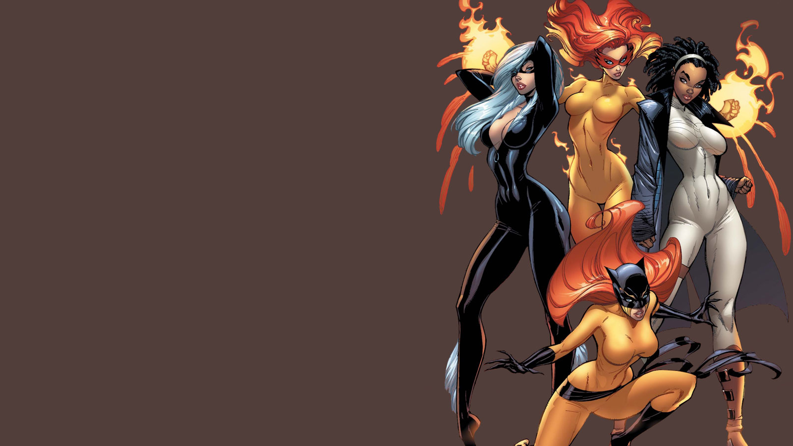 Marvel girls wallpaper erotica picture