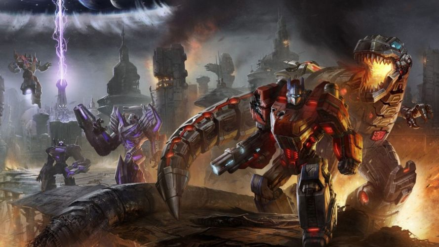 video games widescreen Transformers Fall of Cybertron Fall Of Cybertron wallpaper