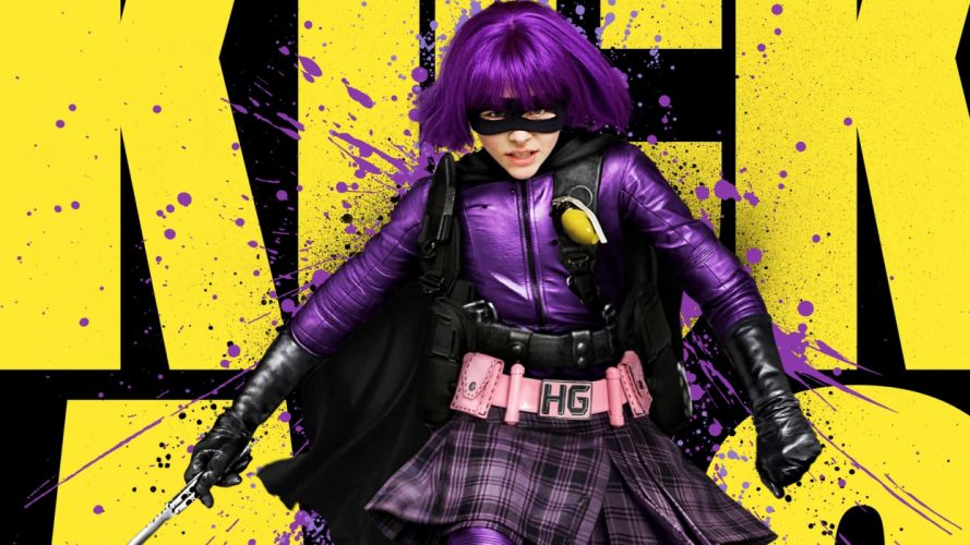 Kick-Ass Hit Girl movie posters wallpaper
