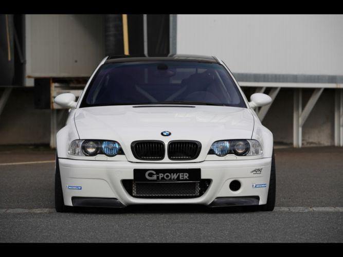 cars supercars BMW M3 static BMW E46 G Power wallpaper