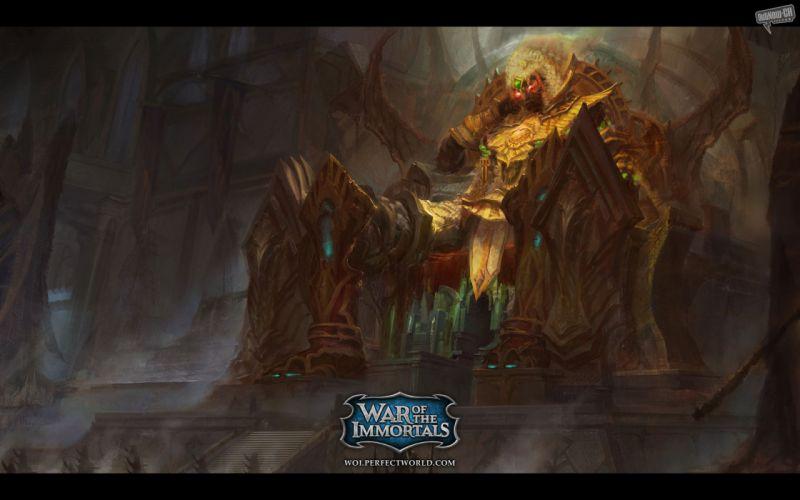 video games artwork War of the Immortals wallpaper