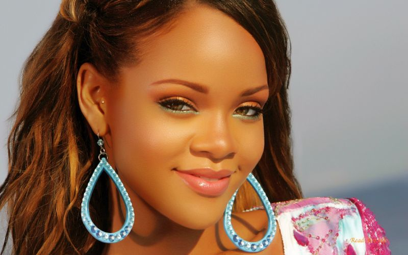 women Rihanna models wallpaper