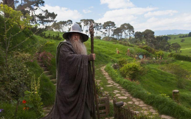 Gandalf The Lord of the Rings wizards The Hobbit Ian Mckellen wallpaper