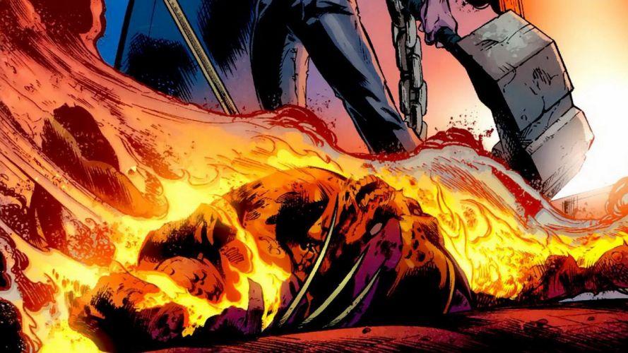 comics X-Men Wolverine Marvel Comics Fear Itself wallpaper