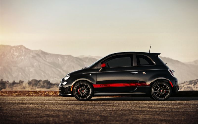 cars Fiat 500 Abarth wallpaper
