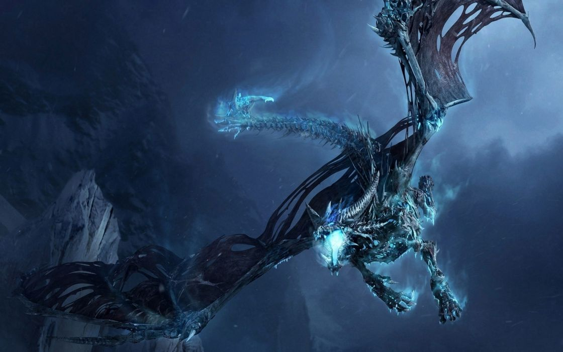 fantasy dragons World of Warcraft artwork World of Warcraft: Wrath of the Lich King wallpaper