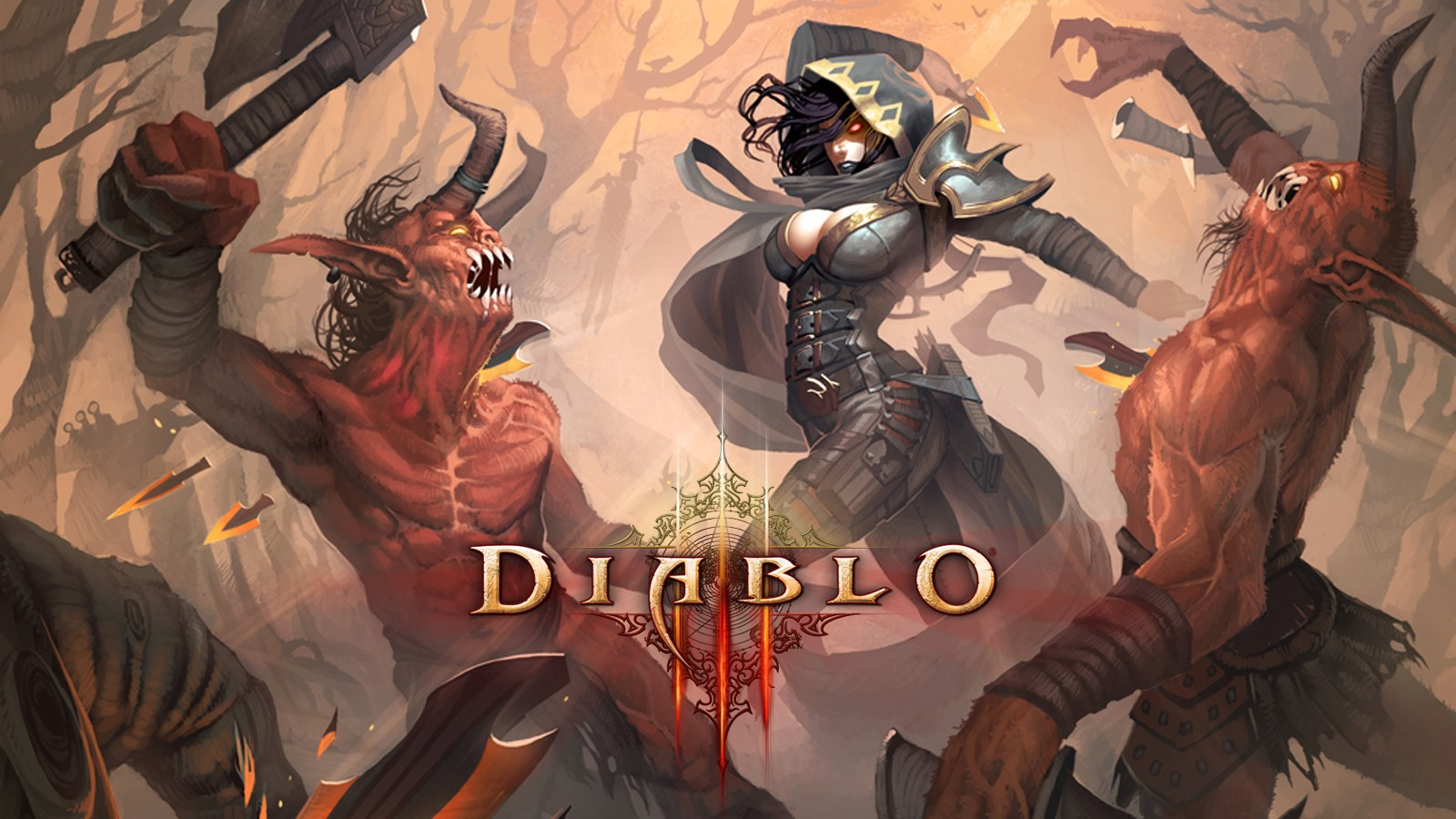 Diablo Demon Hunter Diablo III games wallpaper | 1600x900 ...