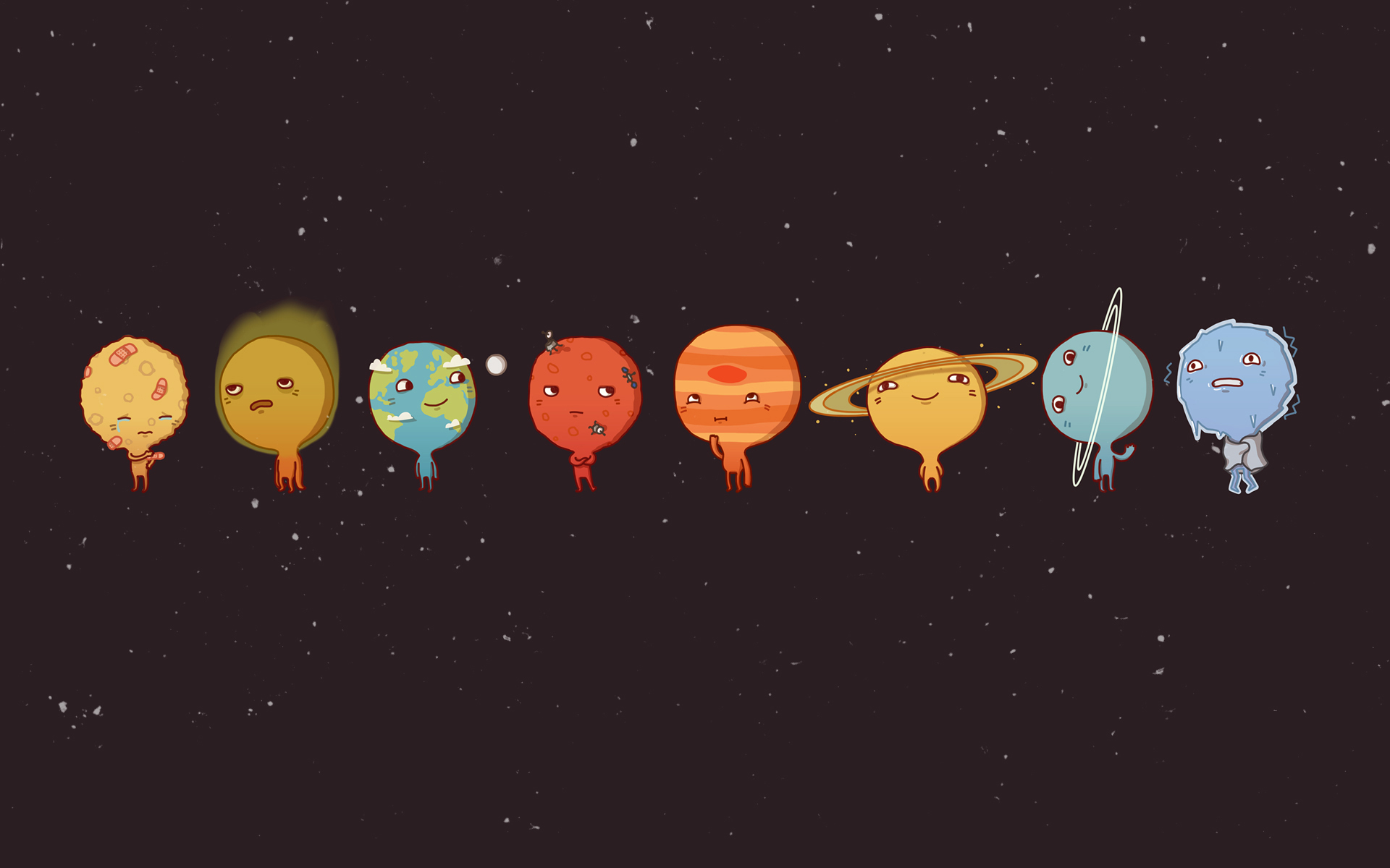 planets solar system wallpaper 1920x1200 - photo #31