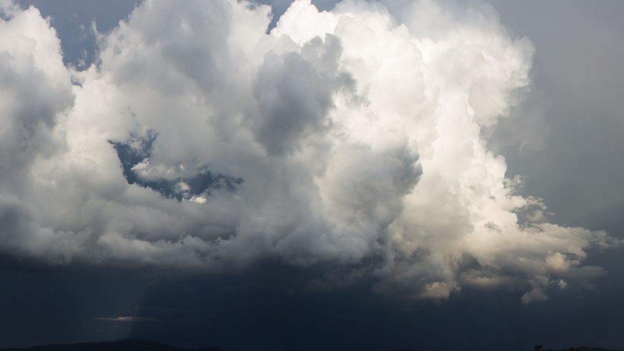 clouds nature skies wallpaper