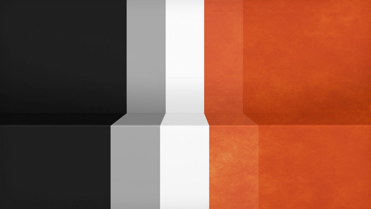abstract black minimalistic white orange gray textures lines racing Lack simple stripes Shading wallpaper