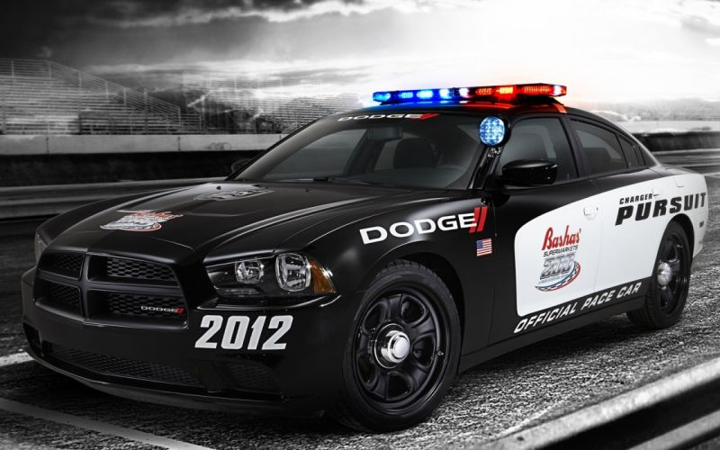 cars sirens Dodge Charger police cruiser wallpaper