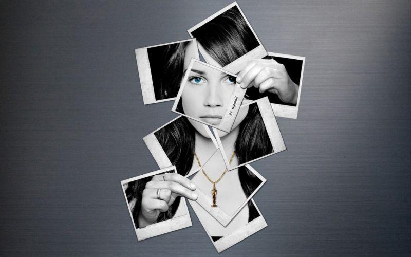 women digital art monochrome photomanipulation wallpaper