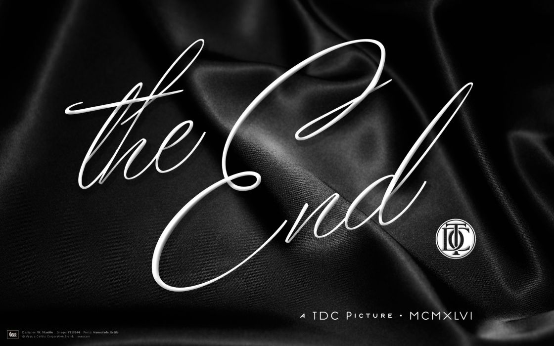 vintage typography grayscale end movie posters calligraphy cloths wallpaper