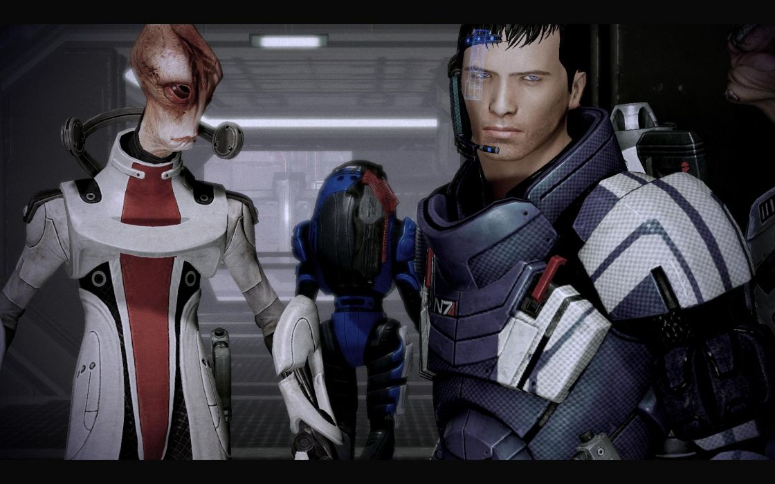 Mass Effect Mass Effect 2 Commander Shepard wallpaper