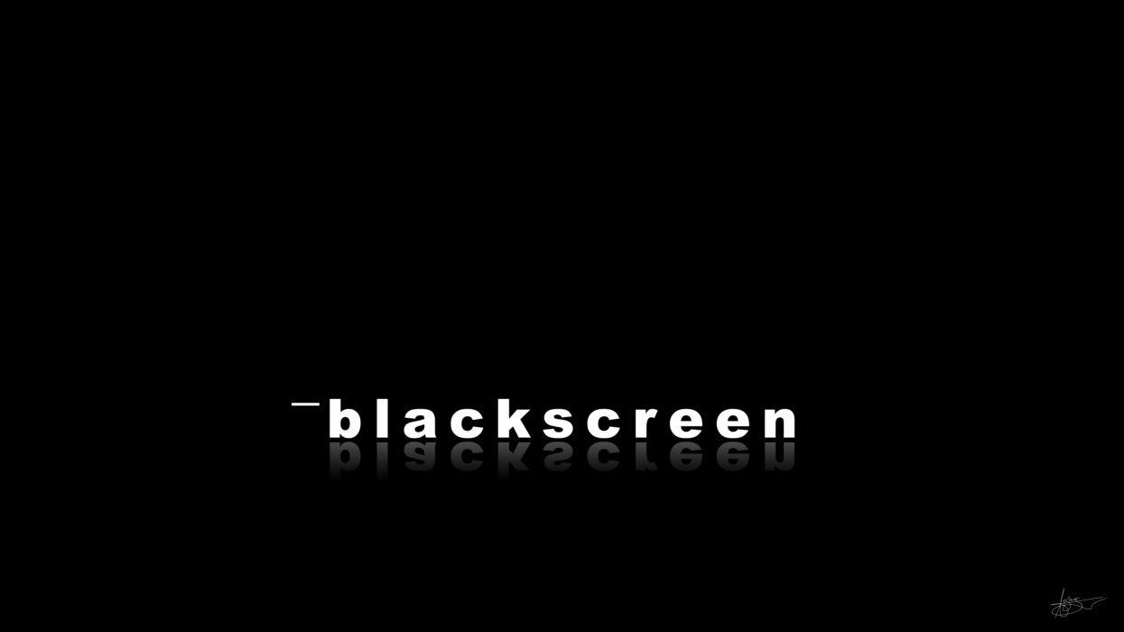 Blue Screen of Death screen of death black screen BlSoD wallpaper