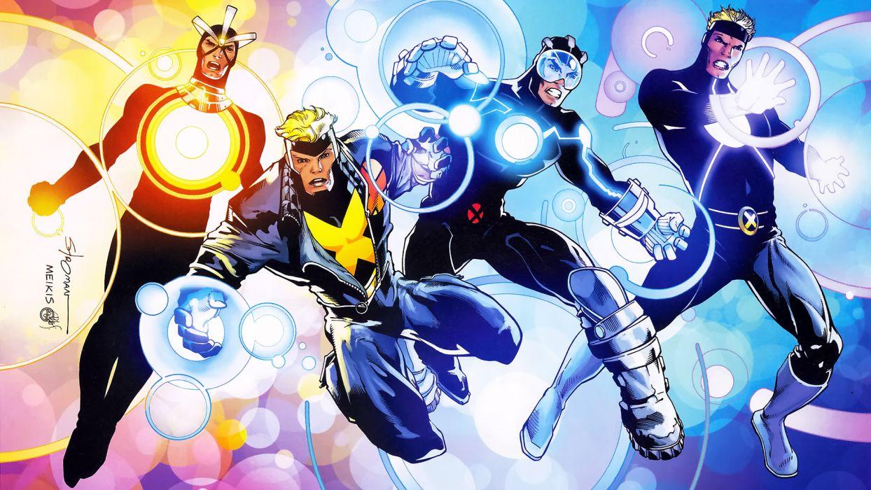 X-Men havoc Marvel Comics wallpaper