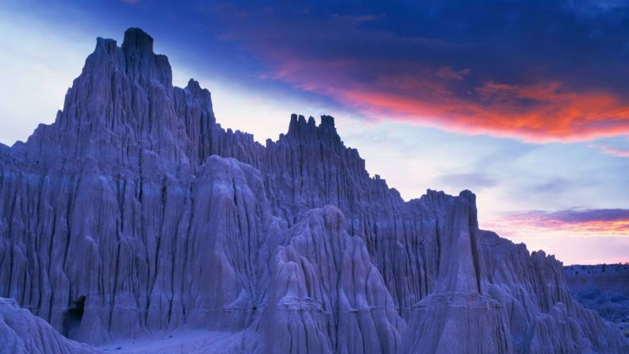 Nevada cathedral parks Twilight (Time of day) wallpaper