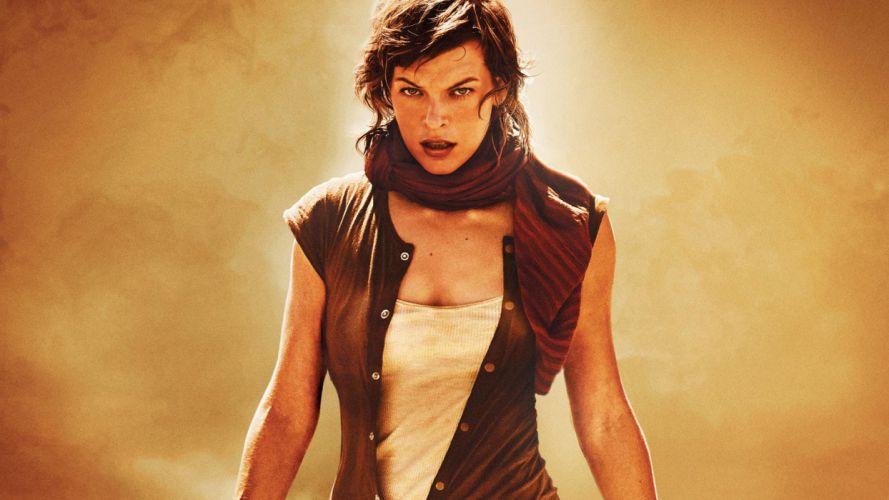 women movies actress Resident Evil Milla Jovovich wallpaper