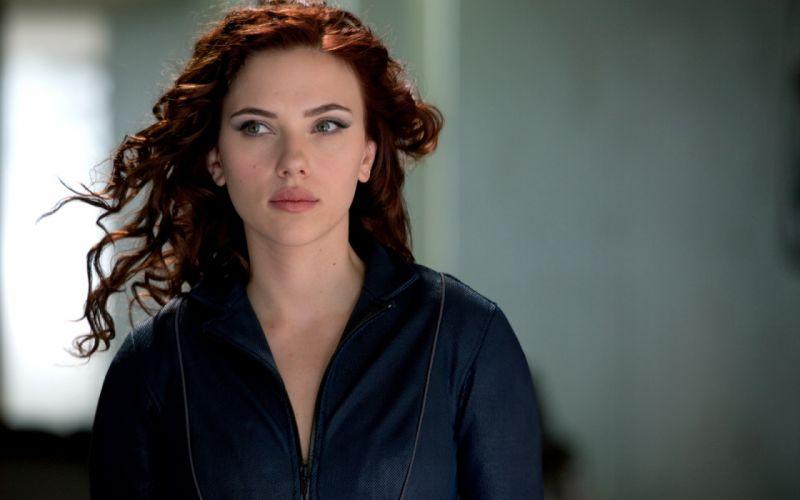 Scarlett Johansson movies actress Black Widow Natasha Romanoff Iron Man 2 wallpaper