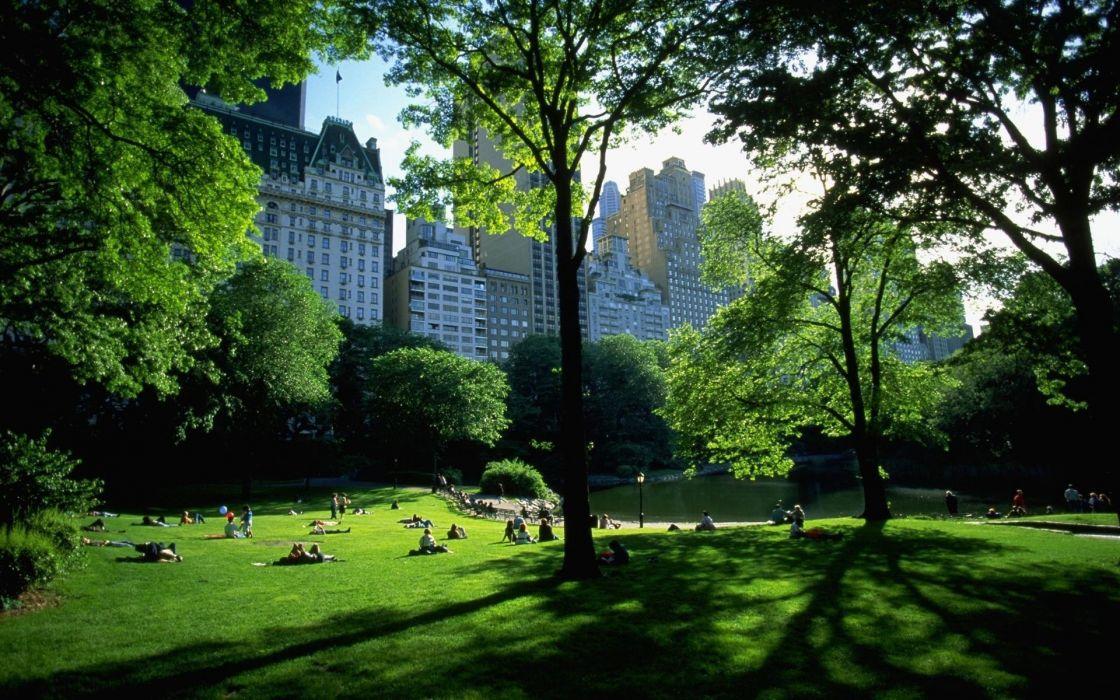 New York City Central Park wallpaper