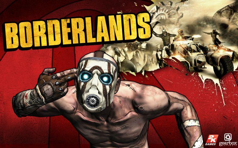 video games Borderlands vilains wallpaper