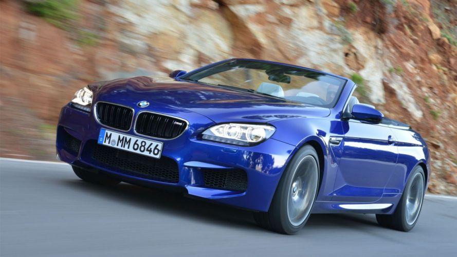 cars convertible BMW M6 wallpaper