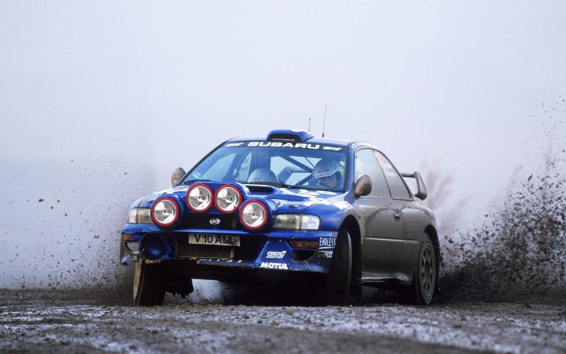 cars Subaru Impreza WRX STI rally car wallpaper