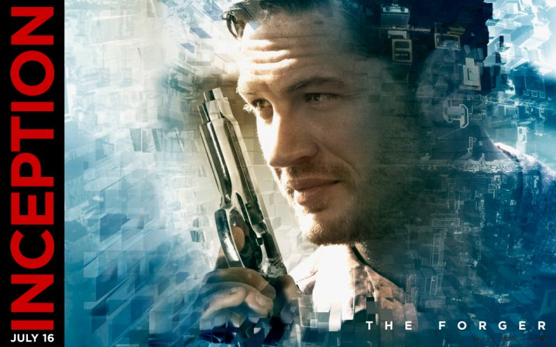 Inception actors movie posters Tom Hardy wallpaper